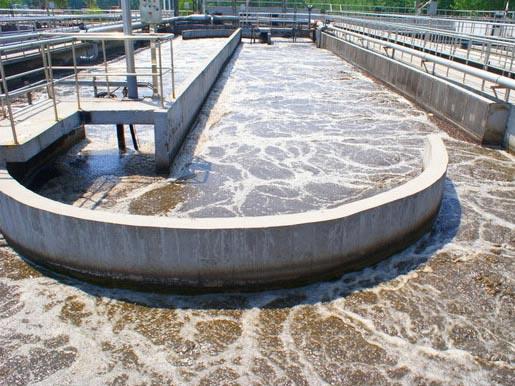 污水处理厂使用聚丙烯酰胺案例.